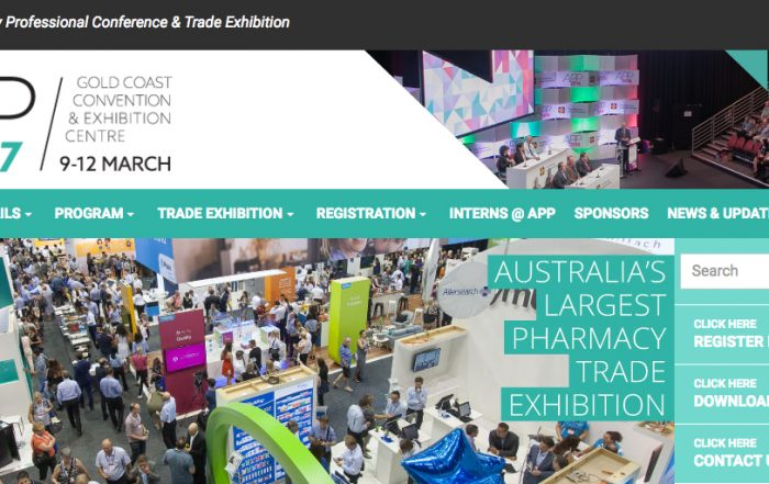 APP Conference 2017 Webpage Screenshot